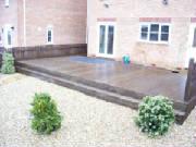 Garden decking and timber decking wakefield leeds yorkshire for Garden decking kits b q