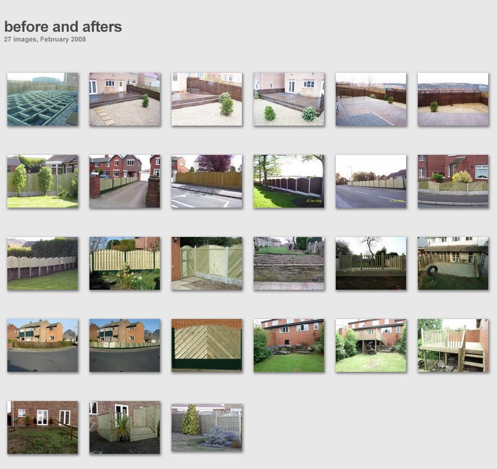 Garden fencing and decking examples wakefield west yorkshire fencedeckcollageg baanklon Choice Image